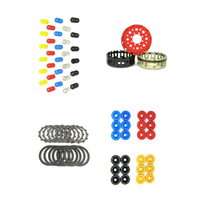Ducati Dry Clutch Kit, Basket, Clutch Plate kit, Springs, Retainers DUCABIKE [Colour: Red]