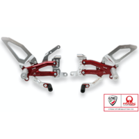 PE407PR Adjustable Rearsets, RPS EASY PRAMAC LIMITED, DUCATI, Panigale V4