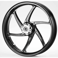 Forged 6-spoke wheels